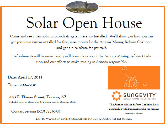 Solar Open House Invite