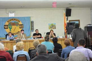 Superior Town Council meeting
