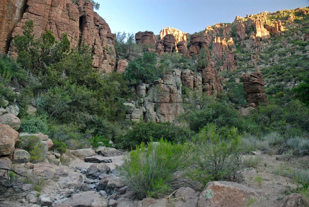 devils canyon rancho rio creek 1