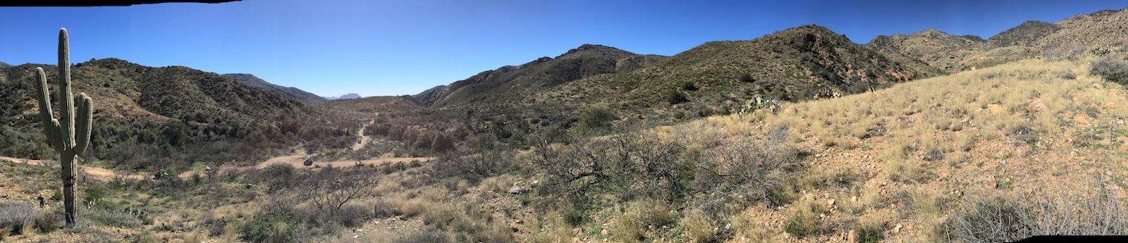 Overlooking Queen Creek 01